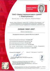 Система управления охраной труда 18001_2007-rus